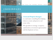 Tablet Preview of crossroadsproperty.us